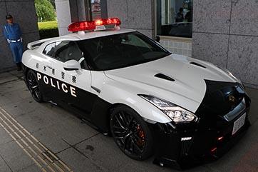 Nissan GT-R carro de polícia
